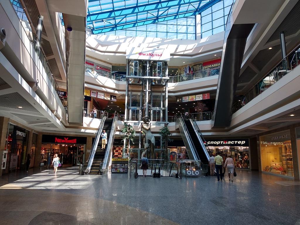 ТЦ Фантастика, эскалаторы, лифт, торговый центр, shop