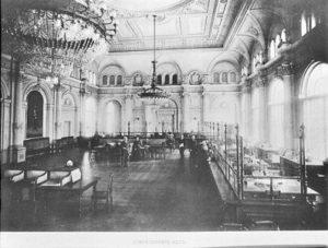 Банк, вестибюль банка